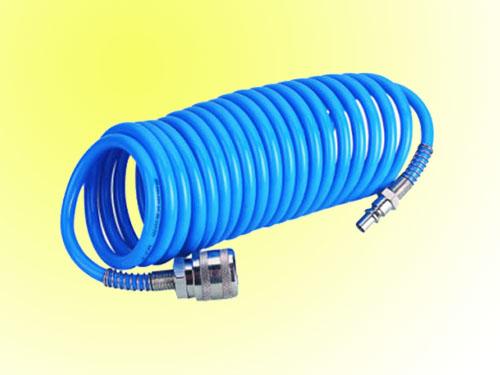 Mangueras espiral de pu pvc pe pa11 nylon goma caucho - Manguera para compresor de aire ...